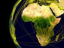 Afrika-Verbindungen stock abbildung