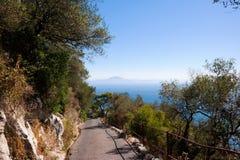 Afrika von Gibraltar lizenzfreies stockbild
