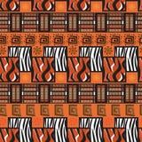 Afrika-Zauntrittverzierunghintergrund Lizenzfreie Stockfotos
