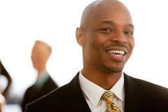 Afrikaans Amerikaans BedrijfsPortret stock afbeelding