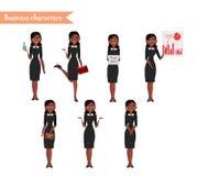 Afrikaans Amerikaans karakter voor scènes Stock Foto's