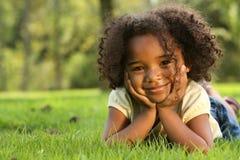 Afrikaans Amerikaans Kind Stock Afbeeldingen