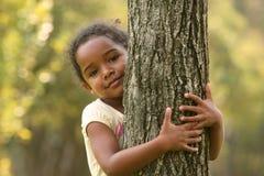 Afrikaans Amerikaans Kind royalty-vrije stock afbeelding