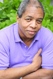 Afrikaans Amerikaans mannetje. royalty-vrije stock afbeelding