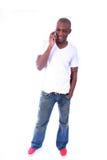 Afrikaans Amerikaans Mannetje Royalty-vrije Stock Foto