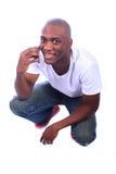 Afrikaans Amerikaans Mannetje Stock Afbeelding