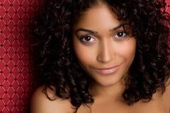 Afrikaans Amerikaans Meisje royalty-vrije stock afbeelding