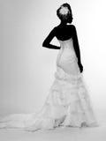Afrikaans-Amerikaanse bruid Stock Foto