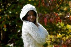 Afrikaans-Amerikaanse vrouw royalty-vrije stock foto's