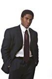 Afrikaans-Amerikaanse zakenman Stock Foto's