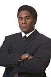 Afrikaans-Amerikaanse zakenman Royalty-vrije Stock Afbeelding