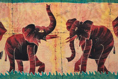 Afrikaans Art Royalty-vrije Stock Foto