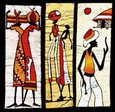 Afrikaans art. Royalty-vrije Stock Foto