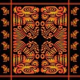 Afrikaans decoratief patroon Royalty-vrije Stock Afbeelding