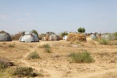Afrikaans dorp Stock Fotografie