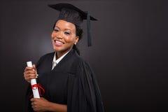 Afrikaans gegradueerde royalty-vrije stock fotografie