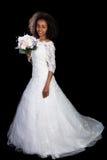 Afrikaans huwelijksmeisje Stock Fotografie