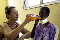 Afrikaans kind stock afbeelding