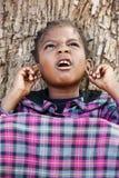 Afrikaans kind Stock Afbeeldingen
