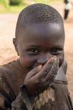 Afrikaans kind in Rwanda Stock Foto