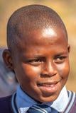 Afrikaans kindportret Stock Fotografie