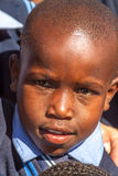 Afrikaans kindportret Stock Foto