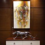 Afrikaans kunstwerk Royalty-vrije Stock Afbeelding