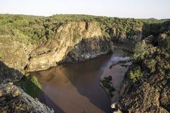 Afrikaans Landschap royalty-vrije stock afbeelding