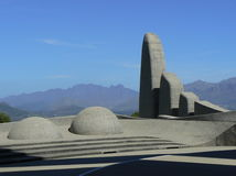 AFRIKAANS LANGUAGE MONUMENT, PAARL, SOUTH AFRICA Stock Image