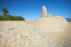 Afrikaans Language Monument royalty free stock photos