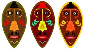 Afrikaans masker Royalty-vrije Stock Afbeeldingen