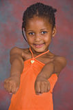 Afrikaans meisje Royalty-vrije Stock Foto