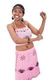 Afrikaans meisje Royalty-vrije Stock Afbeelding