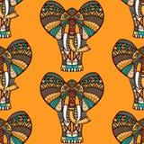 Afrikaans naadloos patroon Stock Foto