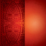 Afrikaans ontwerp als achtergrond. Royalty-vrije Stock Foto