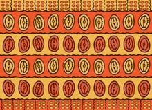 Afrikaans patroon Royalty-vrije Stock Afbeeldingen