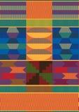 Afrikaans patroon Royalty-vrije Stock Fotografie