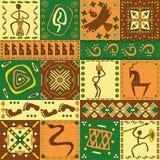 Afrikaans patroon Stock Fotografie