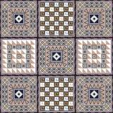 Afrikaans patroon 2 Royalty-vrije Stock Afbeeldingen