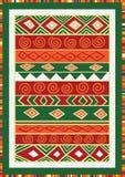 Afrikaans patroon Royalty-vrije Stock Afbeelding