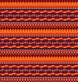 Afrikaans patroon - vectorillustratie Royalty-vrije Stock Fotografie