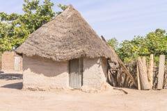 Afrikaans plattelandshuisje stock afbeelding