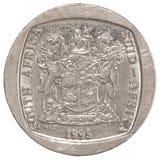 Afrikaans randenmuntstuk Royalty-vrije Stock Afbeeldingen