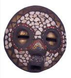Afrikaans ritueel masker royalty-vrije stock foto's