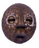 Afrikaans ritueel masker van Nigeria royalty-vrije stock afbeeldingen