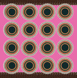 Afrikaans Roze materiaal Stock Foto