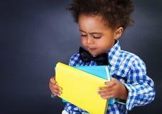 Afrikaans schooljongenportret stock afbeelding