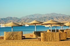 Afrikaans strand. Royalty-vrije Stock Afbeelding
