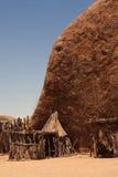 Afrikaans traditioneel dorp Royalty-vrije Stock Foto