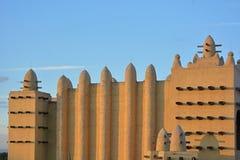 Afrikaans traditioneel dorp Stock Afbeeldingen